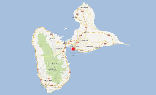 frankrike byer kart
